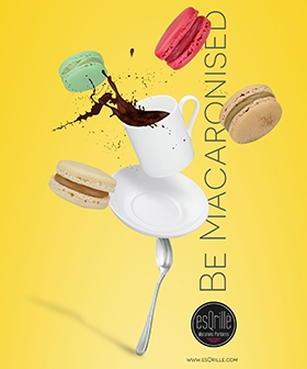 ADVERTISING - esQrille French Macarons